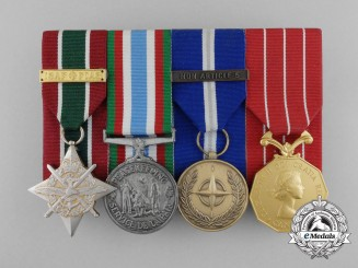 A Modern Canadian Peacekeeping Medal Group
