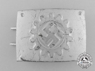 A Werktrupp Enlisted Man's Belt Buckle by Assmann & Söhne