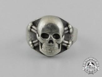 A Fine 1930's German Skull Ring