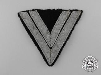 A Luftwaffe Obergefreiter's Rank Chevron;  Herman Goering Division