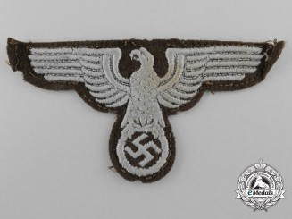 Germany, Heer. A Sleeve Eagle for Tunic for NCO's/Enlisted Rank; Eastern Territories