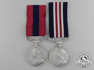 A Canadian DCM MM Pair for Attending Wounded under Fire at Cambrai