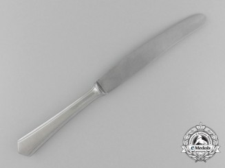 A Fine Quality Waffen-SS Mess Hall Knife; Marked