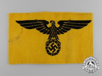 A Second War German Civil Service Armband