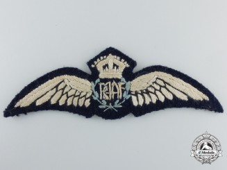 A Second War Royal Australian Air Force (RAAF) Pilot Wings
