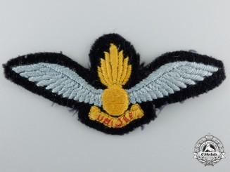 A British Air Observation Post Officer Pilot Badge