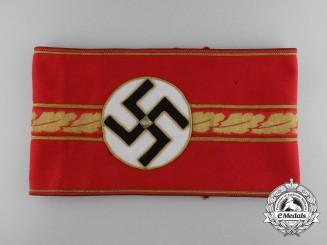 An NSDAP Armband for Stellvertretender (Deputy) GauLeiter