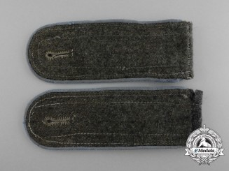 A Pair of Wehrmacht Transport/Supply Enlisted Man's Shoulder Boards