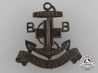 An Early Canadian Boys' Brigade Membership Badge