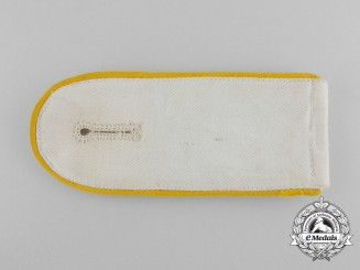 A Rare Luftwaffe Enlisted Shoulder Strap for a White Summer Blouse