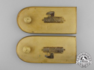 An Italian Fascist High Leader's Shoulder Boards