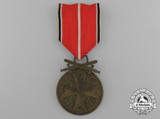 An Order of the German Eagle Medal; Bronze Merit Medal with Swords