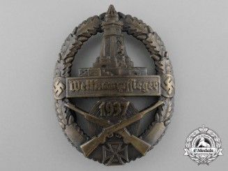 A 1937 Kyffhäuser Shooting Competition Award Sleeve Badge