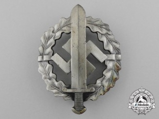 A Silver Grade SA Sports Badge by W. Redo