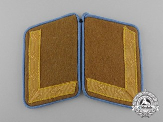Germany, NSDAP. A Mint and Unissued Pair of Kreisleitung Stellenleiter's Collar Tabs