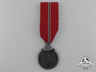 A 1941/42 German Eastern Front Medal by Werner Redo