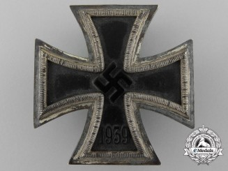 An Iron Cross 1939 First Class by B. H. Mayer's Kunst-Prageanstalt