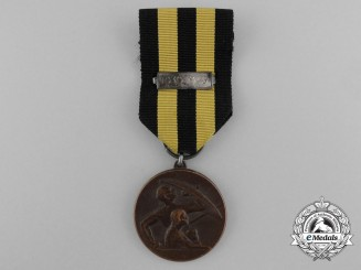 A Finnish Civil Defence Merit Medal; Bronze Grade