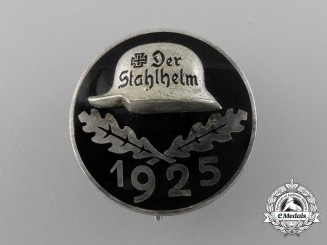 A Stahlhelm Veteran's Badge 1925