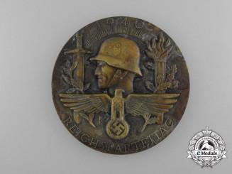 A 1940 Reichstag Celebration Medal by Deschler