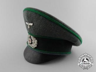 A Miniature Wehrmacht Heer (Army) Gebirgsjäger Officer's Cap by Münzenfabric A. Müller