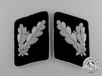 A Mint Waffen-SS Pair of Collar Tabs for SS-Oberführer