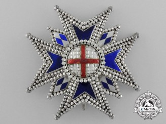 Bavaria. A Military House Order of St. George, Commander's Star, c.1880