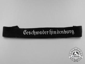 Germany, Luftwaffe. A Geschwader Hindenburg Officer's Cufftitle