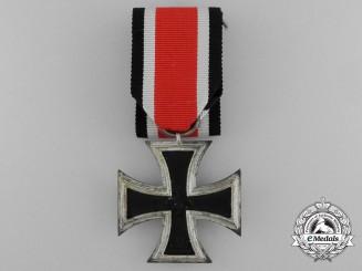 An Iron Cross Second Class 1939; Schinkel Version by W. Deumer