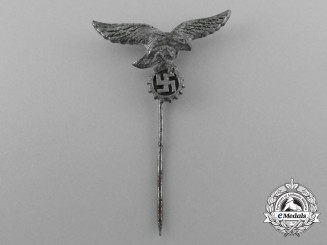 A Scarce Civilian Luftwaffe Flak Helper's Stick Pin