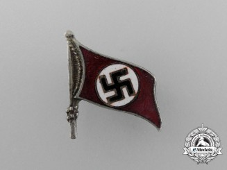 A Fine NSDAP Party Supporter/Member Badge