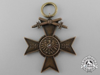An Honourary Cross from the Union of German First War Participants