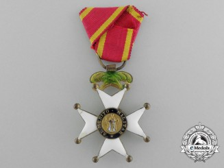 Spain, Kingdom. An Order of San Fernando, III Class Knight, Reduced Size, c.1890
