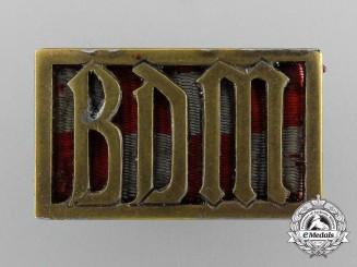 A Bund der Deutschen Mädel (BDM) Membership Badge by Ferdinand Hoffstätter