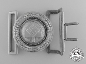 Germany. A RAD (Reichsarbeitsdienst) Officer's Belt Buckle by F. W. Assmann & Söhne