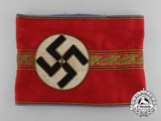 An NSDAP Ortsgruppe/Zellenleiter and Hauptbetriebsobermann Armband