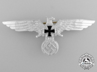 A German Third Reich Era Reichskriegerbund Veteran's Association Breast Eagle Insignia