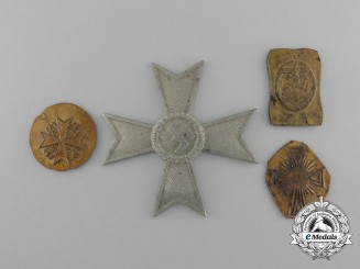 First Strike Blanks of German Second War Medals and Awards; Zimmermann Manufacture