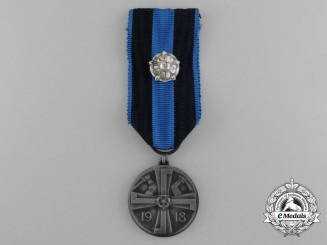 A Finnish Commemorative Medal for the Liberty War 1918