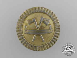 A First War Austrian Woodcutter Badge