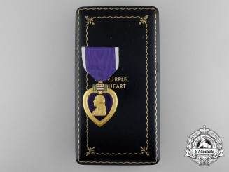 An American Korean War Purple Heart to Private Fox; KIA in North Korea