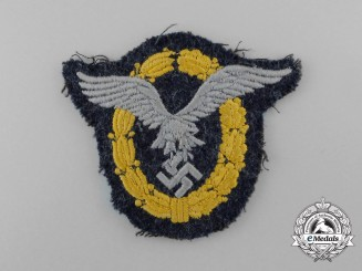 A Fine Quality Luftwaffe Combined Pilot's & Observer's Badge; Cloth Version