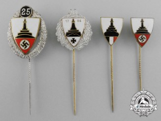 A Set of Kyffhäuser Veteran's League Stick Pins