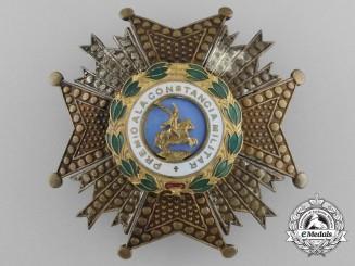 A Spanish Royal and Military Order of Saint Hermenegildo; Breast Star