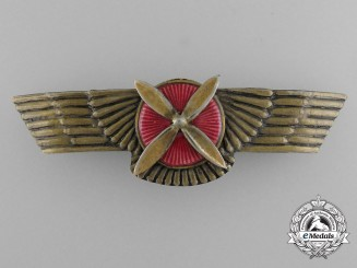 A Spanish Civil War Period Pilot's Wing