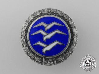 "A Rare High Quality Class ""D"" FIA Civil Gliding Proficiency Button-Hole Badge"