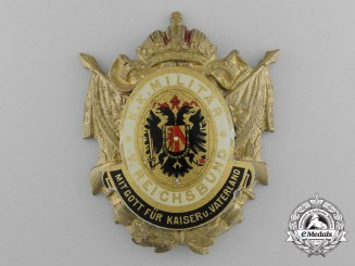 An Austrian Imperial-Royal Military (Kaiserlich-Königlich Militär) Veteran's Badge