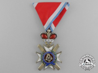 A Serbian Order of the Cross of Takovo; 5th Class (1865-1903)