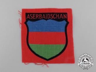 A Mint Waffen-SS Azerbaijani Volunteer Service Sleeve Insignia