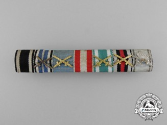 A First War German Imperial Ribbon Bar
